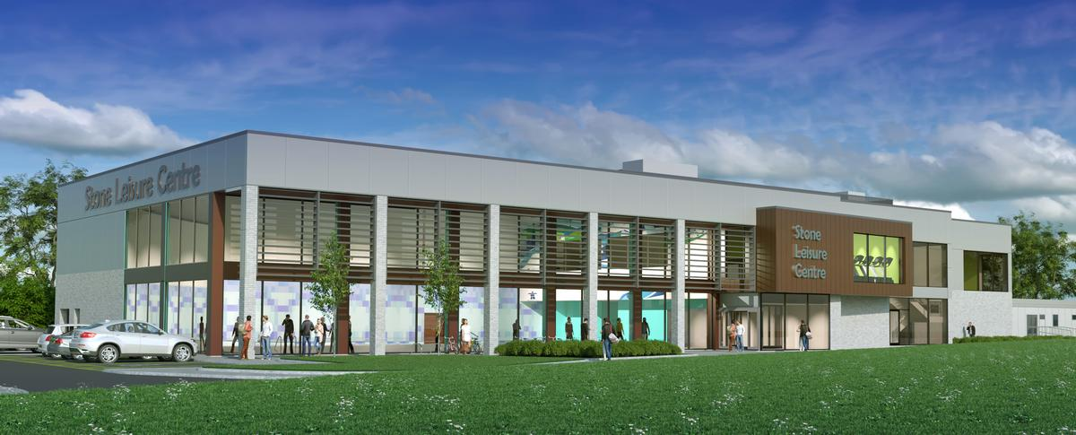 The centre will feature a six lane, 25m swimming pool and a health club with an 80-station gym floor and fitness studios