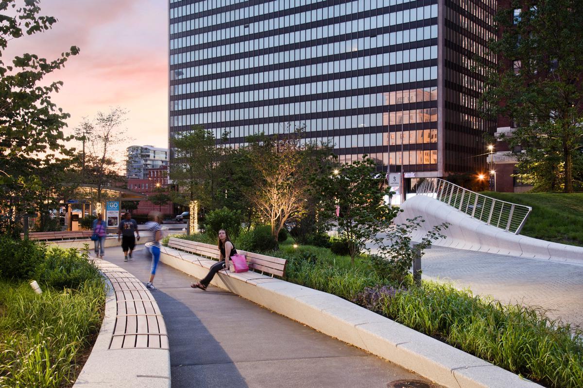 Cleveland Public Park opened in 2016 / Sahar-Coston-Hardy
