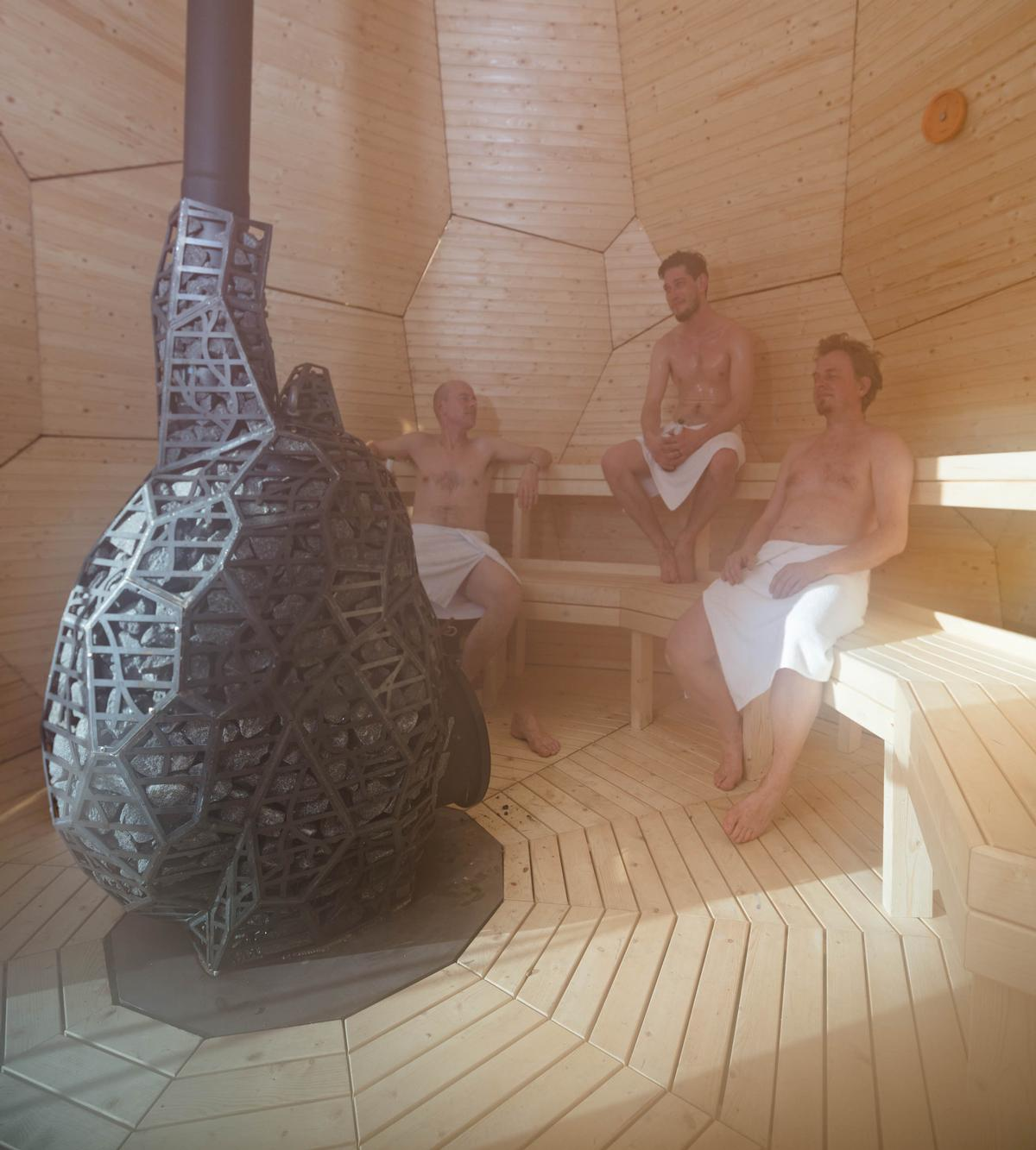 Solar Egg is conceived as a social sculpture in which the people of Kiruna can meet and discuss the challenges facing their community / Jean-Baptiste Béranger