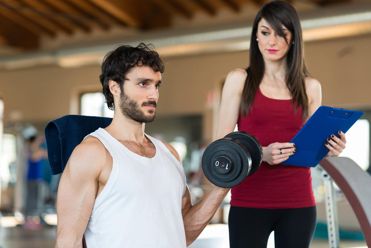 64 per cent of fitness and sport professionals said their work did not involve any physical activity / Shutterstock