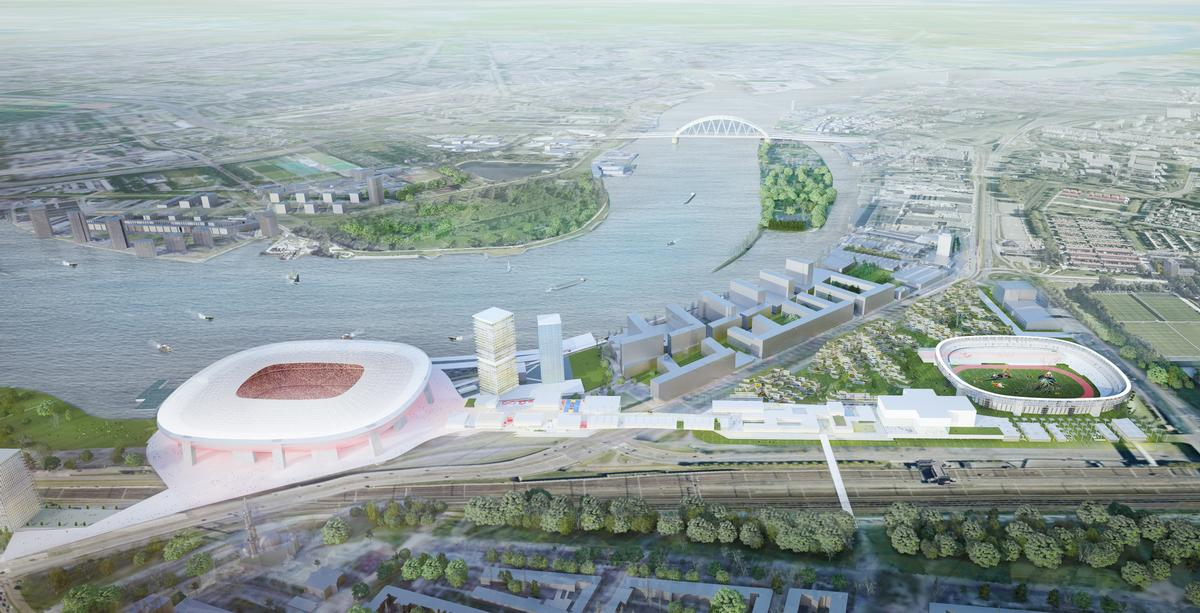 OMA will now work on a detailed design of the masterplan and phase 1 of the scheme / OMA