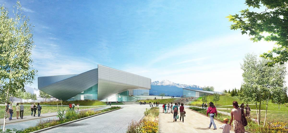 Designed by New York studio Diller, Scofidio + Renfro, themuseum will be dedicated to the achievements of US Olympic and Paralympic athletes / US Olympic Museum