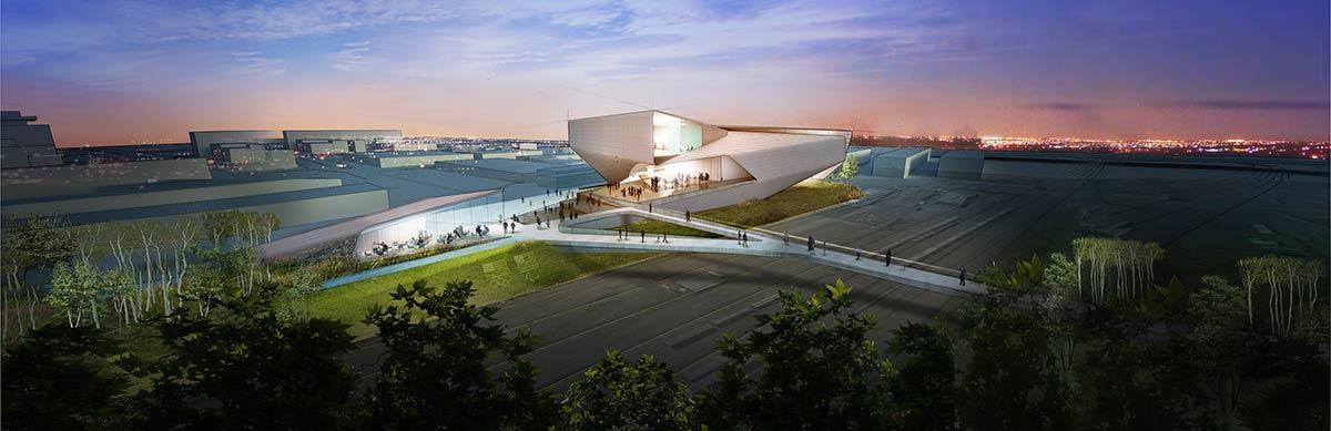 It will be a new economic and tourism catalyst for Colorado Springs / US Olympic Museum