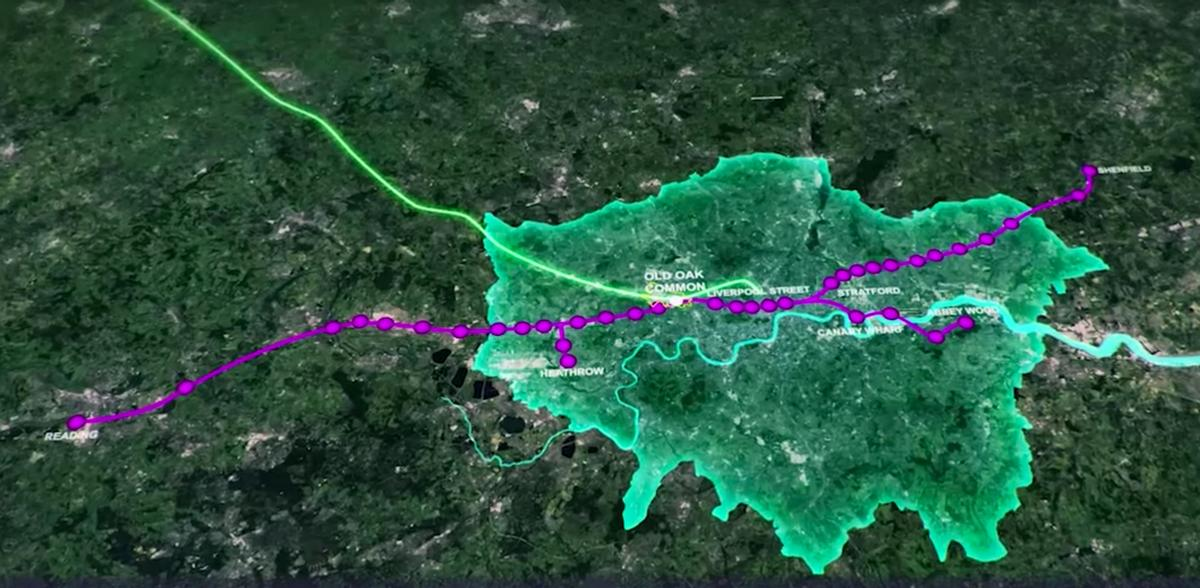The development will connect east and west London and link with other British cities via the new rail networks / OPDC