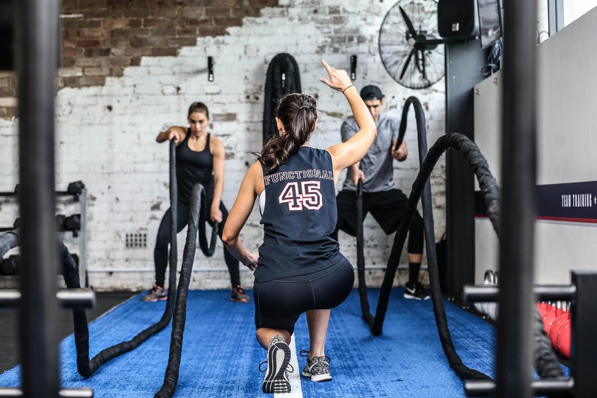 F45 offers high-intensity circuit training workouts