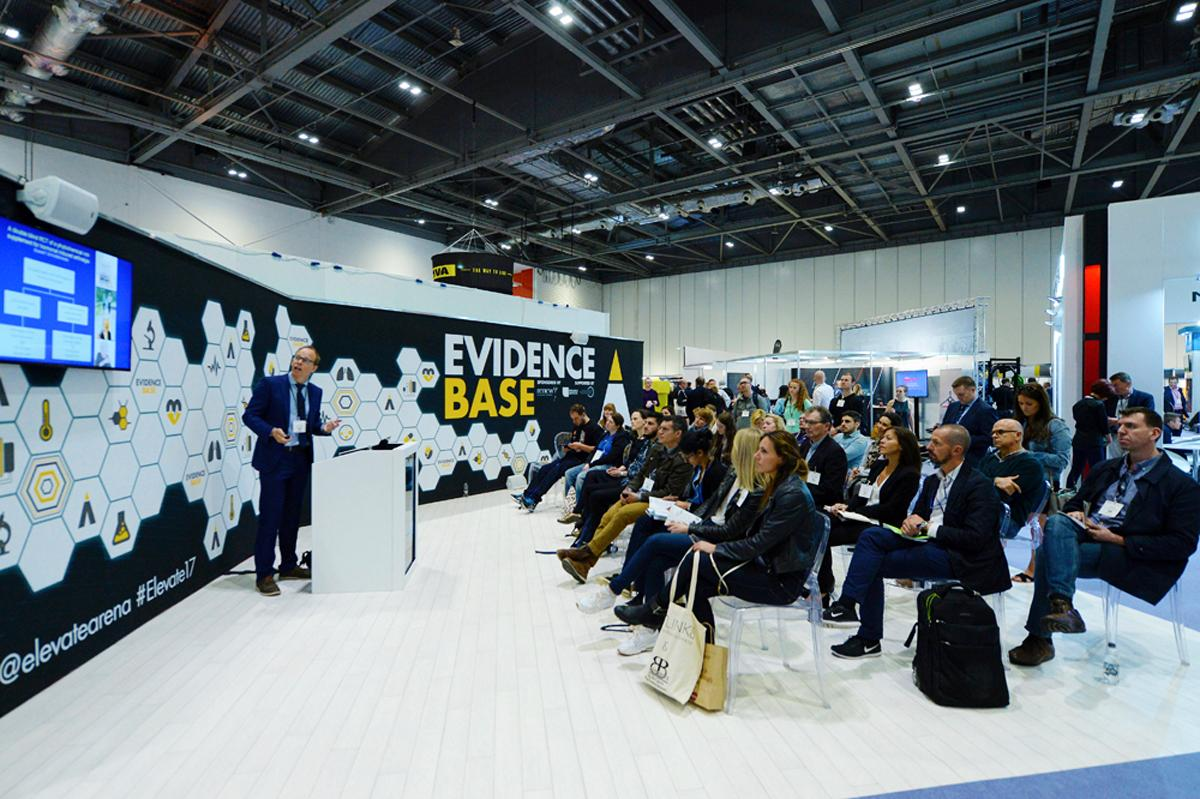 Elevate was attended by academics, allied healthcare professionals, policy makers, leisure operators and sport scientists