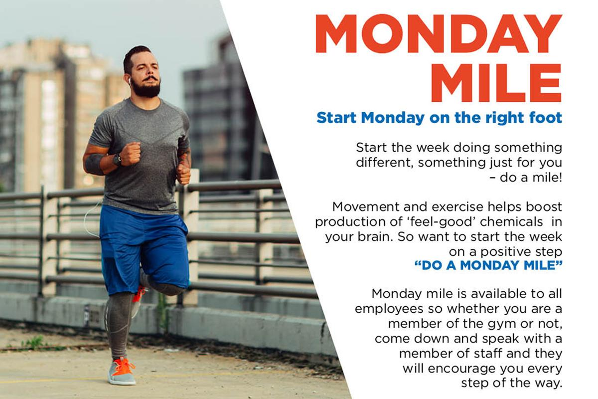 3d Leisure will be introducing its 'Monday Mile' initiative next month