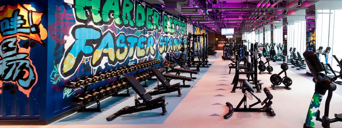 970a7db0c9 Beijing gym inspired by street art to offer city  go-to spot for fitness