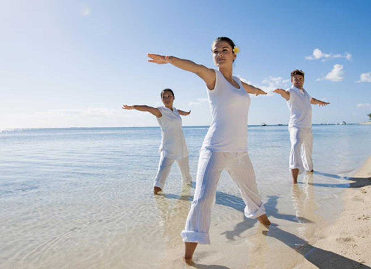 A full set of fitness, yoga and meditation activities will be offered
