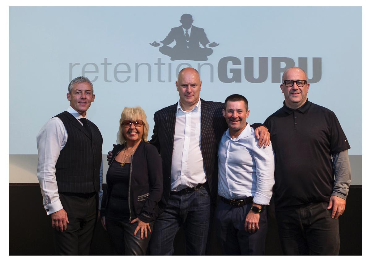 (L-R): Host Dean Hodgkin, Lexie Griffiths, Dr Paul Bedford, Justin Tamsett, Keith Smith