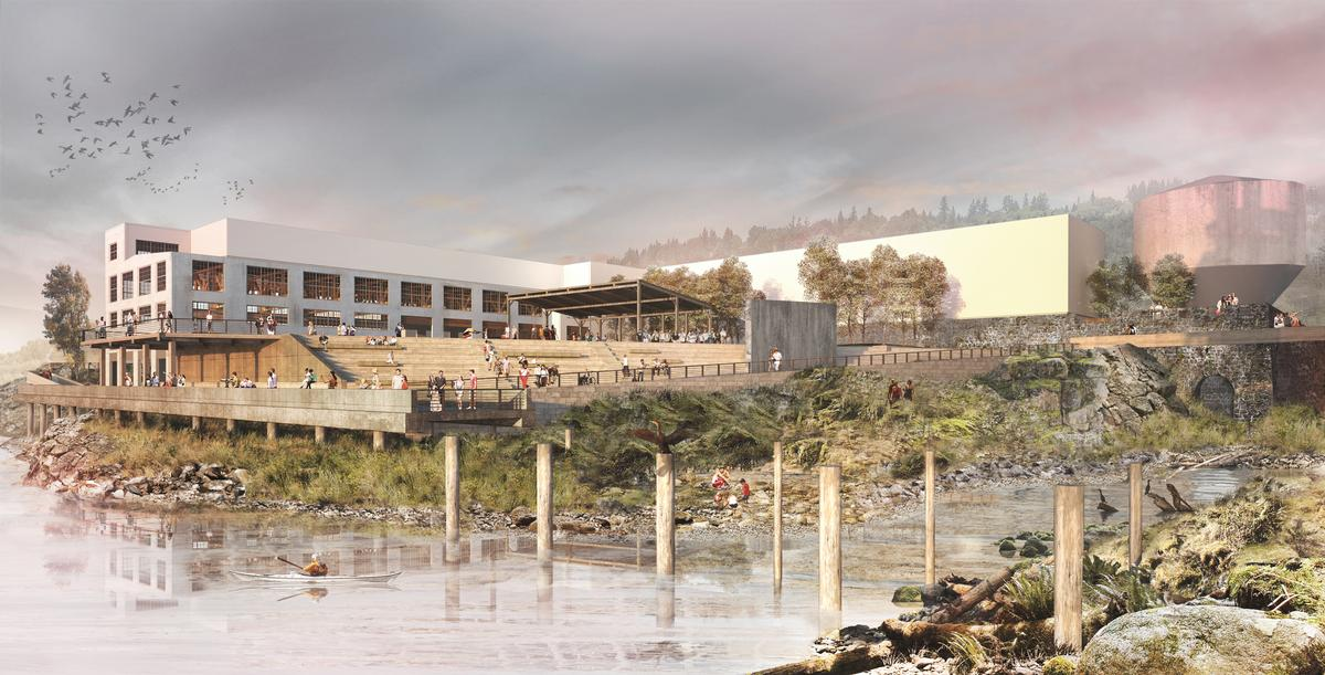 Public areas and lookout points will feature along the walkway / Snøhetta