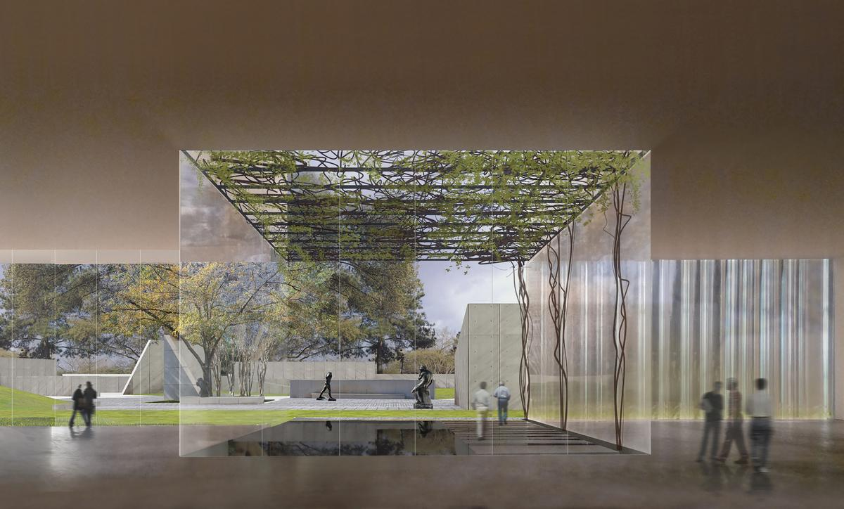 Light, water and greenery are key elements in Steven Holl's design / Steven Holl Architects