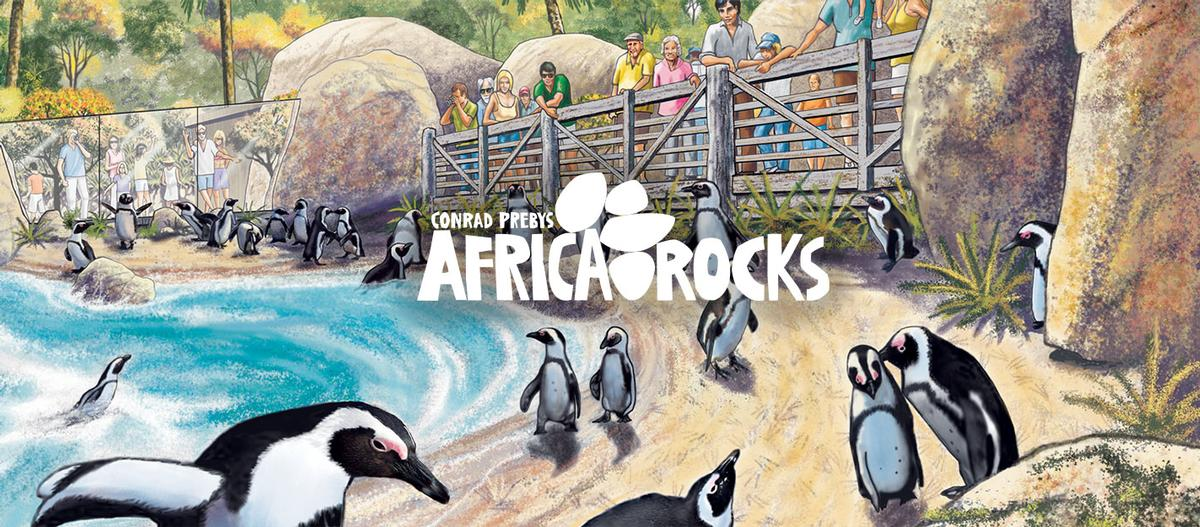 Part of the expansion includes a new habitat and breeding centre dedicated to preserving endangered African penguins