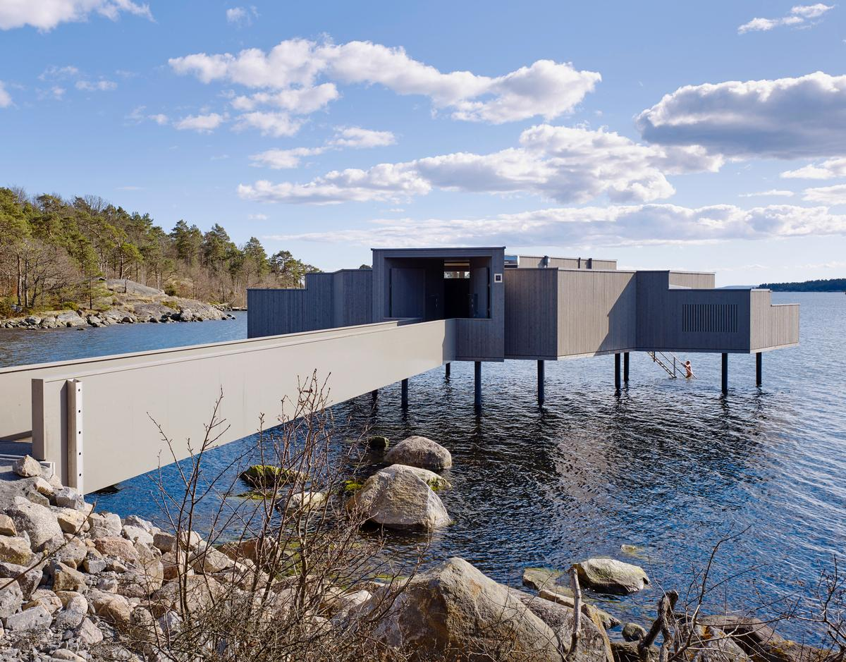 """Kallbadhus is part of a strategy to tap into the region's heritage in """"sea bathing"""" and to attract tourists to Karlshamn"""