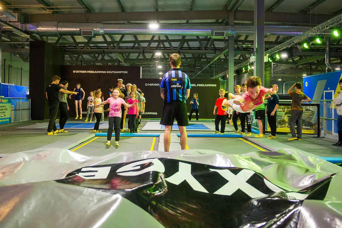 The second Oxygen Freejumping location opened in Southampton last month / Oxygen Freejumping