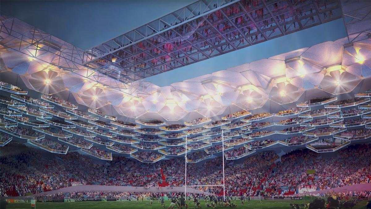 HOK recruit rugby stars to visualise stadiums of tomorrow