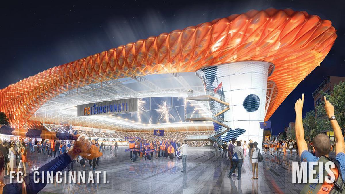 FC Cincinnati aims for MLS inclusion with Meis-designed stadium