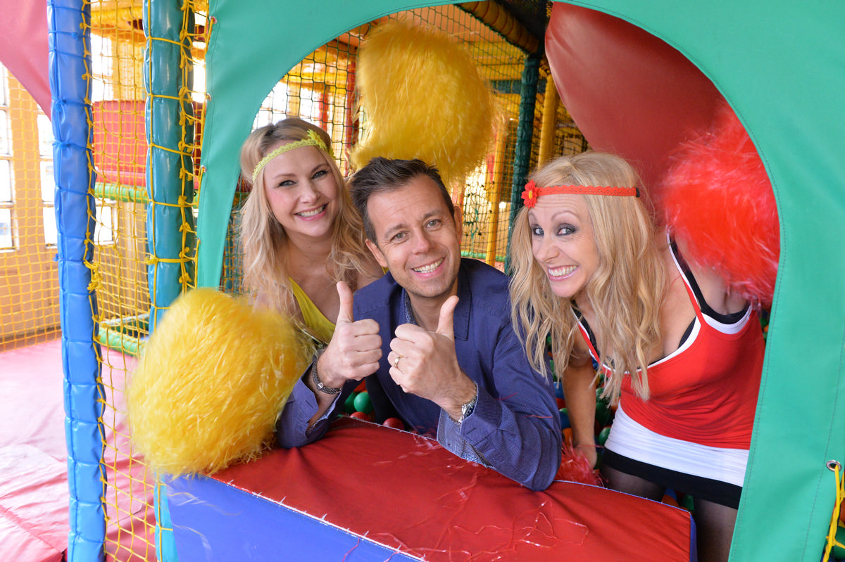 Pat Sharp was host of Fun House for 12 years / patsharp.co.uk