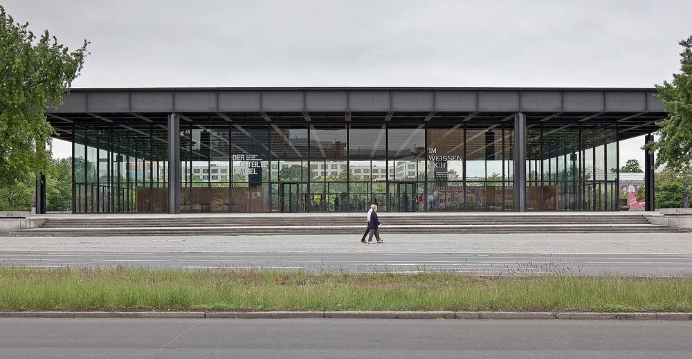 The Neue Nationalgalerie in Berlin is due to be completed in 2019 / ©Ute Zscharnt for David Chipperfield Architects