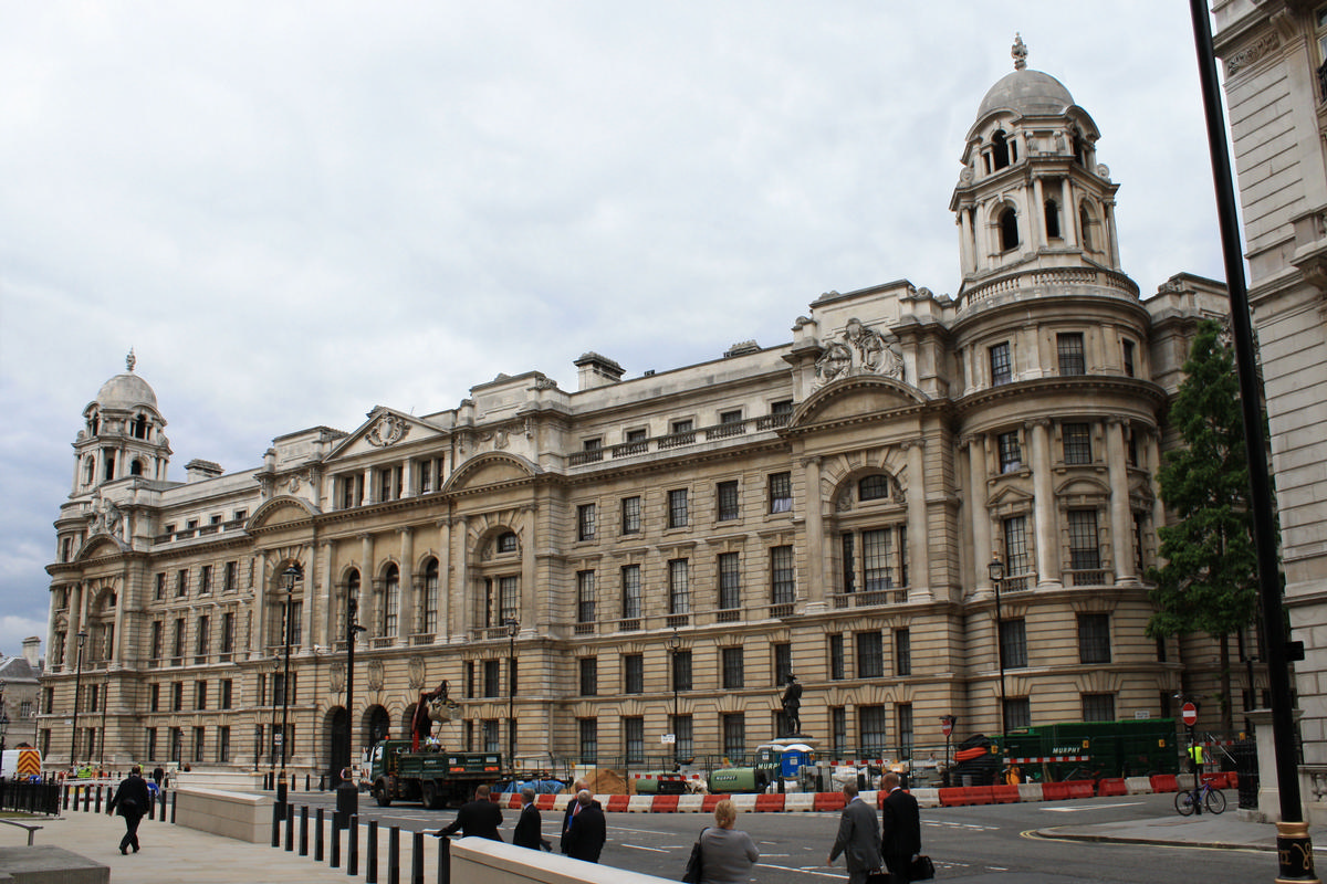 The Grade II* listed Old War Office building in Whitehall is located close to 10 Downing Street, the Houses of Parliament and Westminster Abbey / Wiki Commons