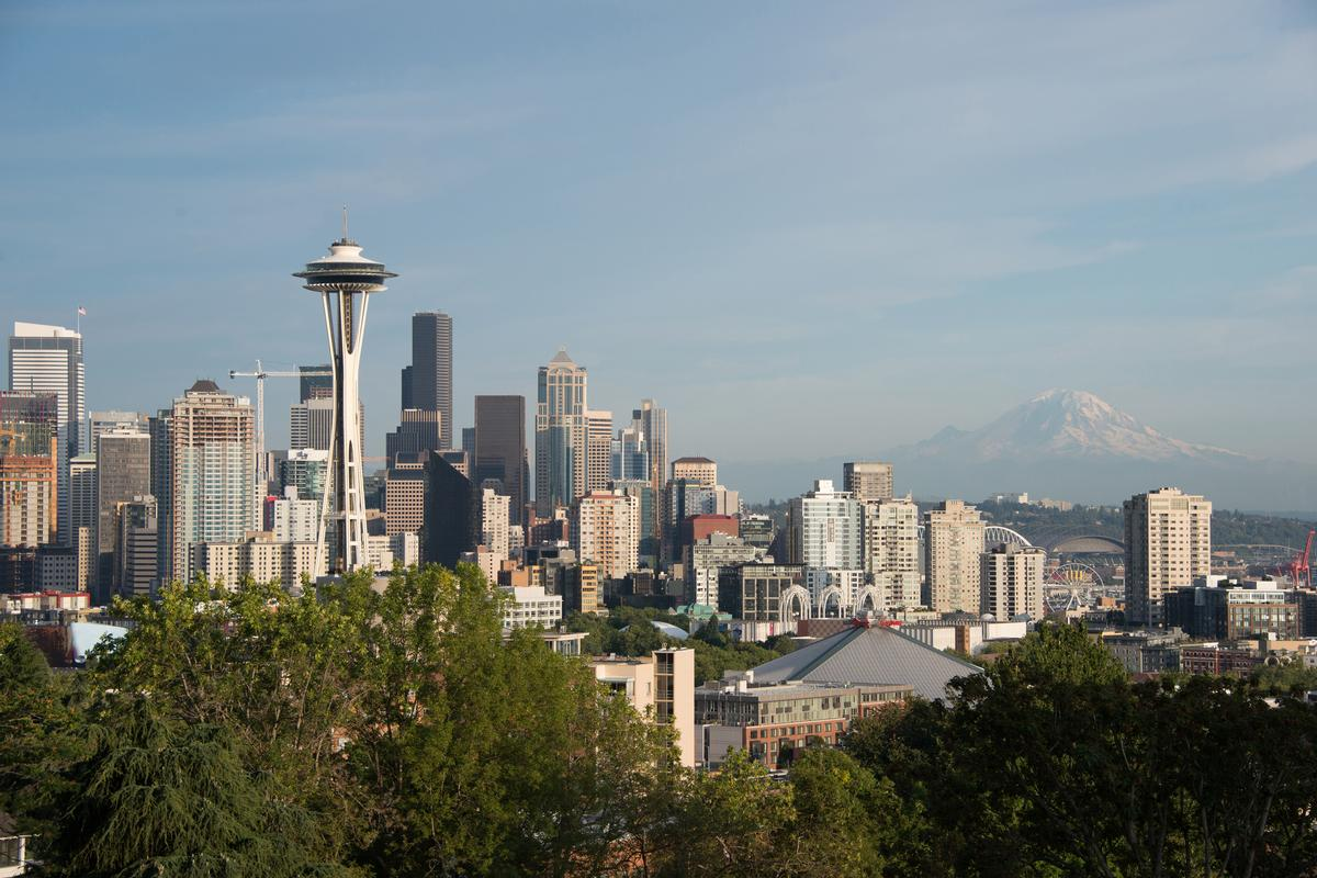 The project team worked closely with Seattle's Landmarks Preservation Board to ensure that the renovations of the alterations will be imperceptible from afar, not altering the historically significant view of the Space Needle