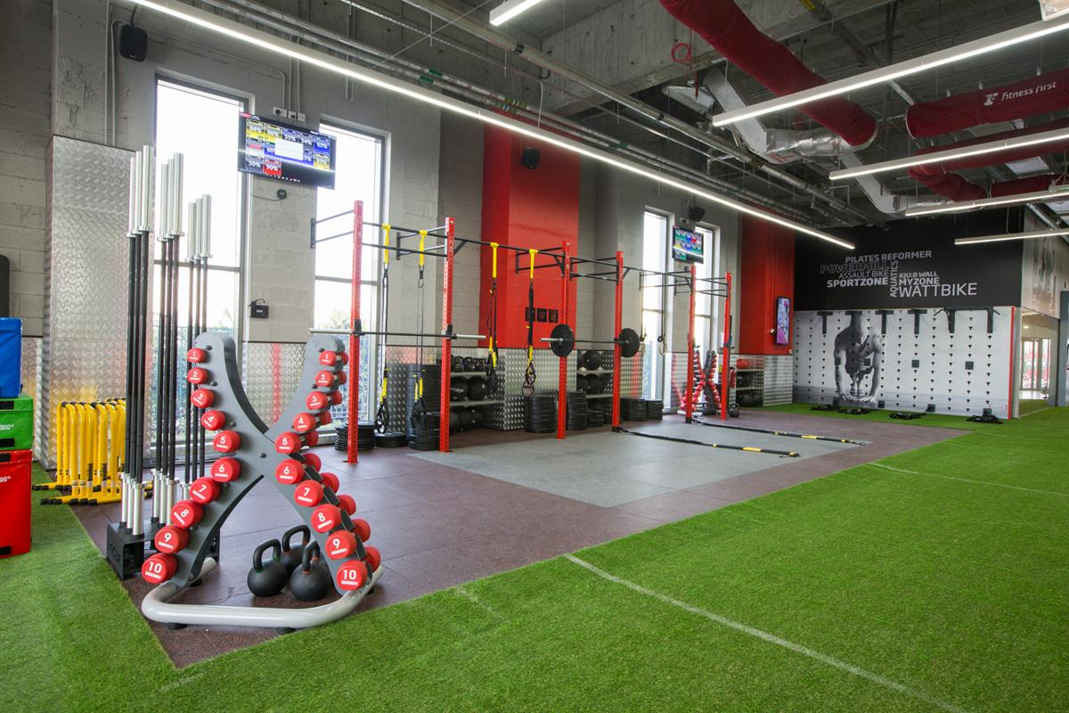 Fitness First Mudon has been designed with a focus on fitness programmes