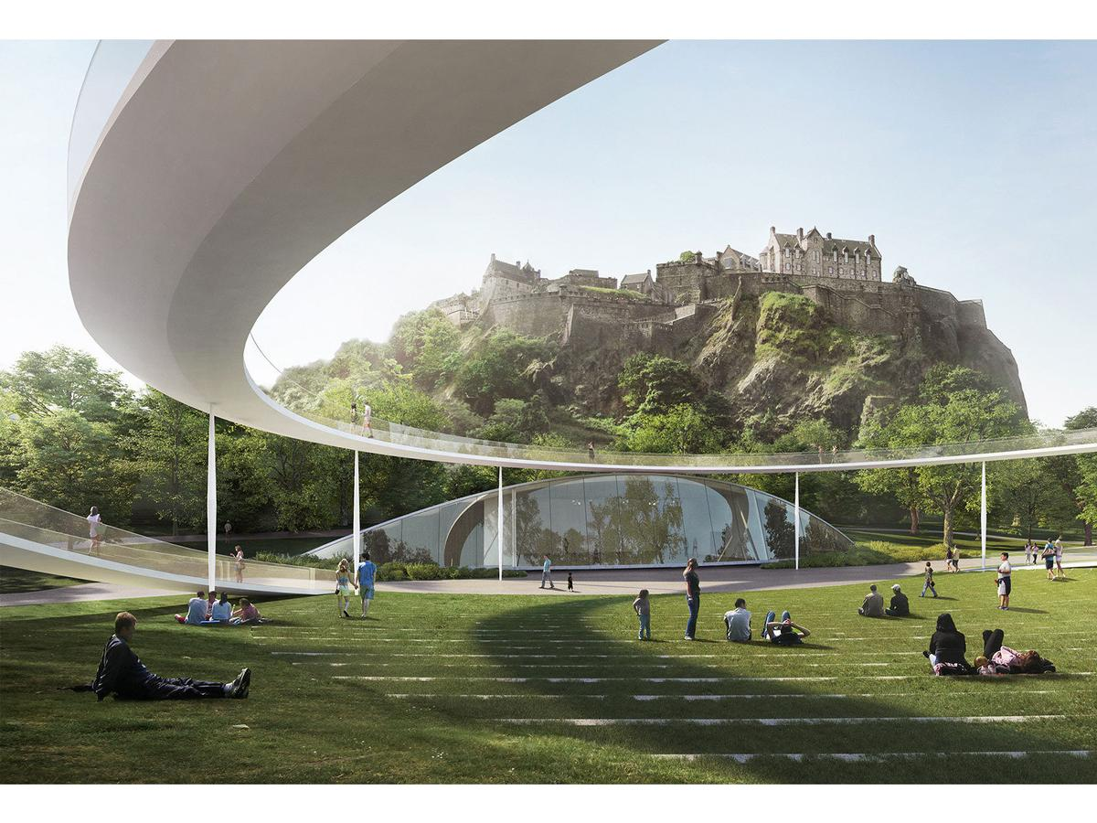 Seven competing designs revealed for new edinburgh for Ross architecture