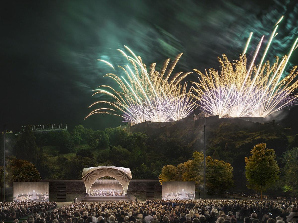 Seven competing designs revealed for new Edinburgh landmark