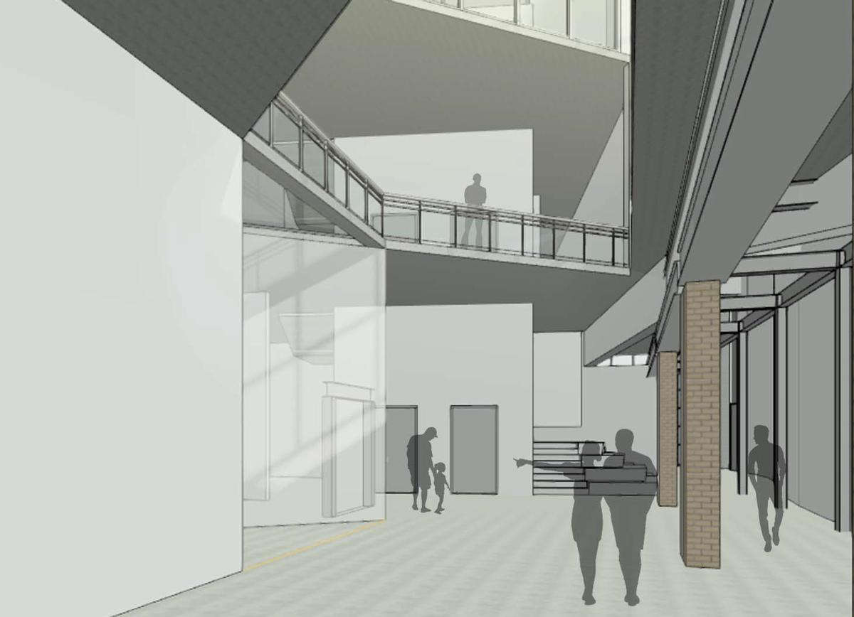The museum will expand to 57,000sq ft in size / Mucasey & Associates