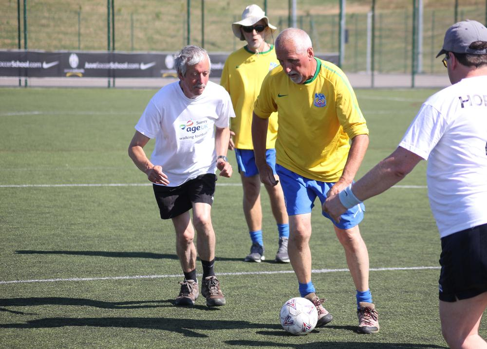 Walking football is among the activities offered under actiSport