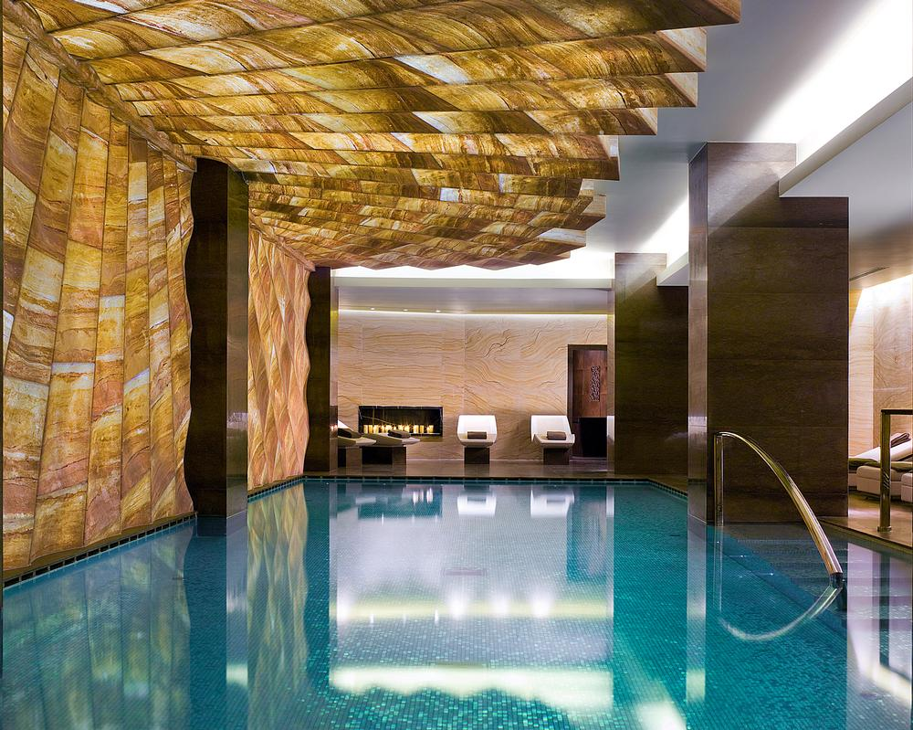Inge Moore designed the ESPA spa at Istanbul's EDITION hotel while with HBA