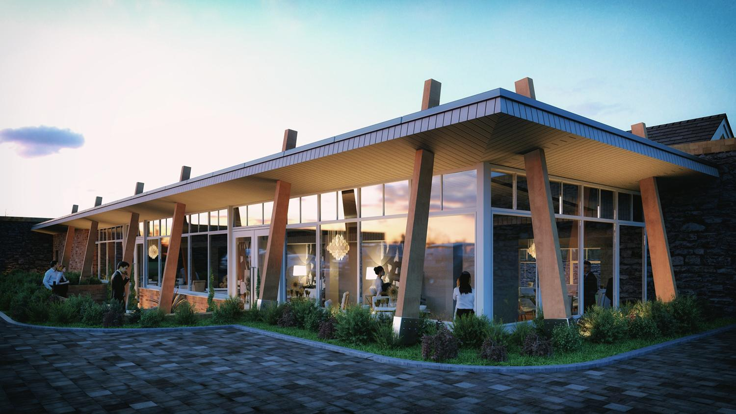 As well as a new spa restaurant, the work will upgrade the existing Fratelli restaurant