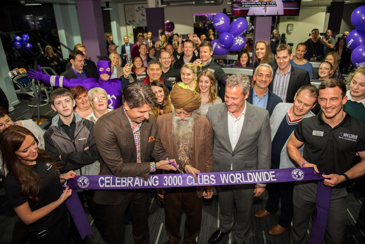 Anytime Fitness recently launched its 3,000th global site in Stroud, but is facing stiff competition for prime sites / Bob Teddy