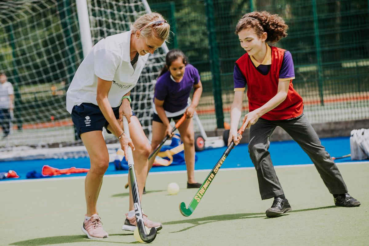Danson launched the initiative at London's Paddington Recreation Ground
