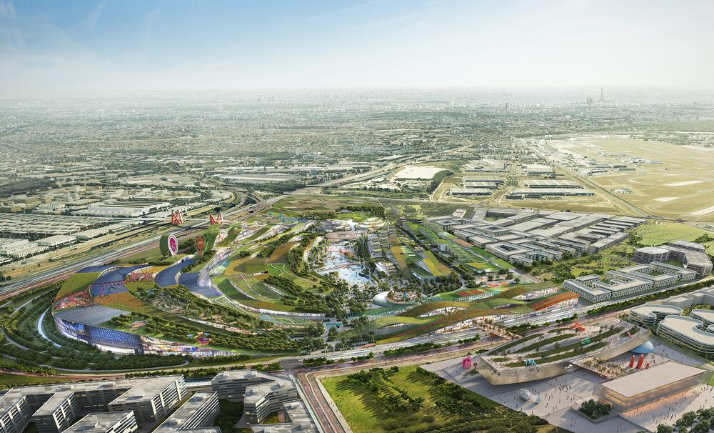 Europacity is set to be constructed on a 80 hectare city in Paris' Triangle de Gonesse / Courtesy of EuropaCity & project architect