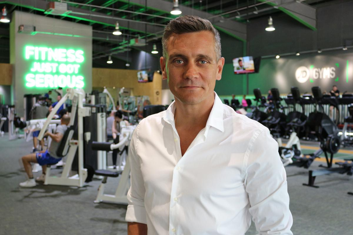 """Alun Peacock, JD Gyms managing director, is """"incredibly excited'"""