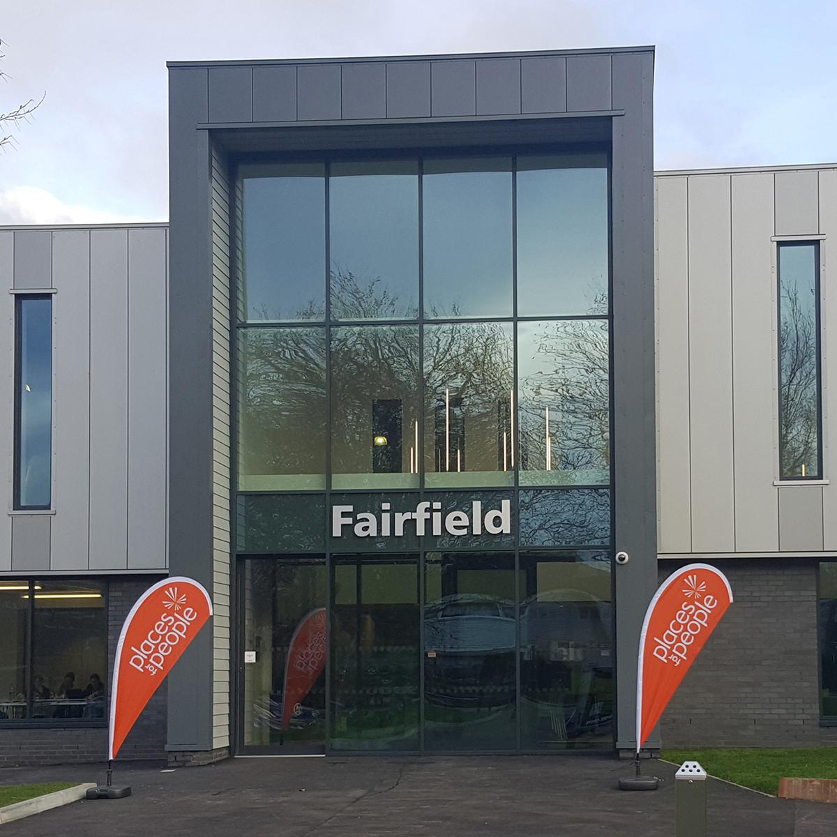 Fairfield Leisure Centre, which is run by Places for People, took two years to build
