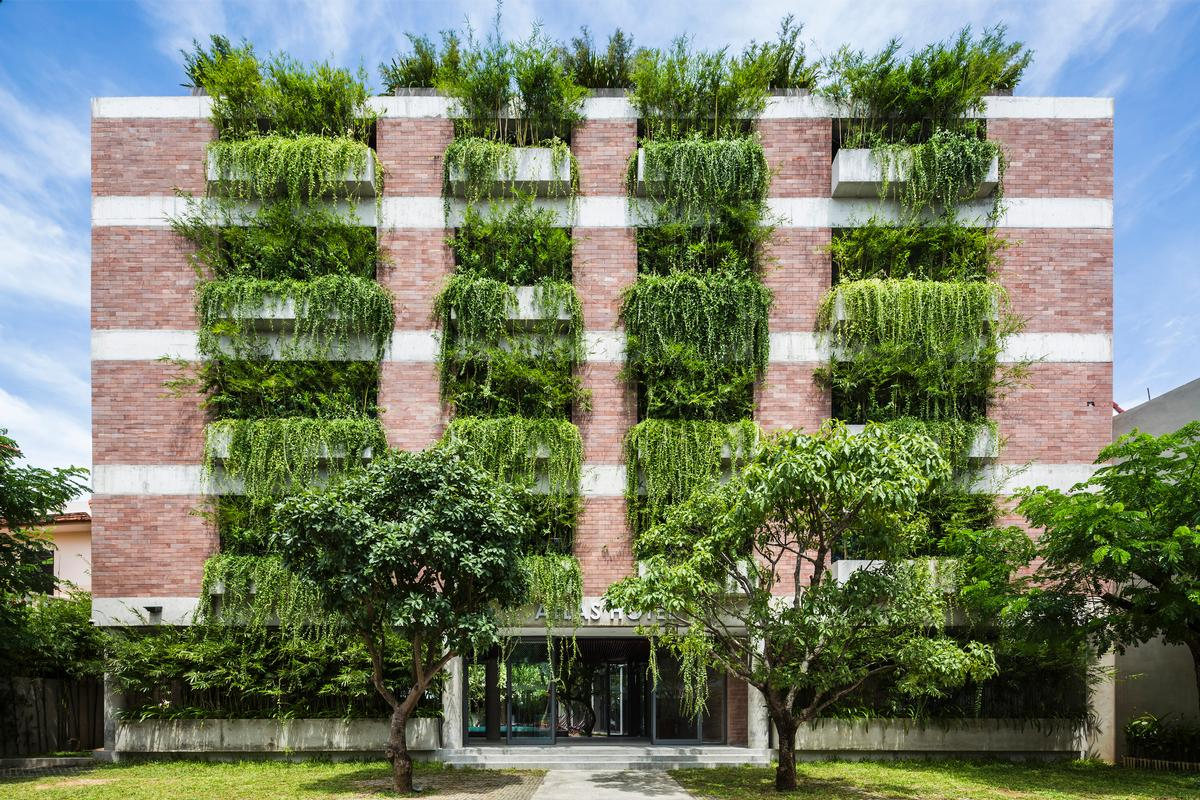 Vo Trong Nghia is one of the architects in contention in the Hotel and Leisure category / WAF
