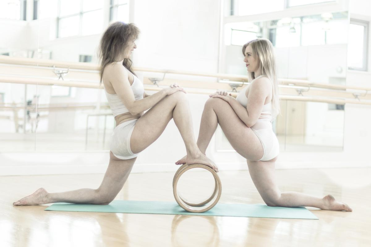 The White Studio business partners Angie Voluti (left) and Mimi Davie