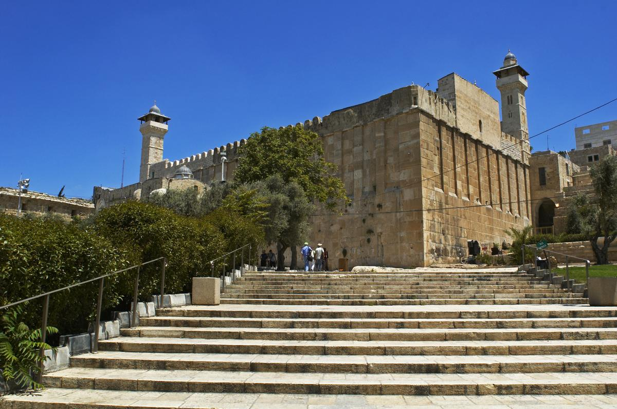 Hebron is a highly-contentious area as it contains the Tomb of the Patriarchs / Shutterstock.com