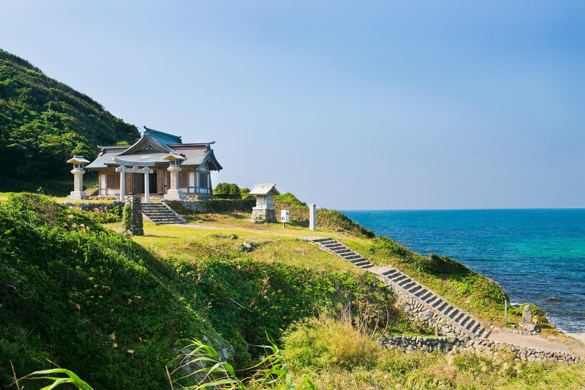 Okinoshima observes long-standing traditions, which controversially includes a ban on women / Unesco