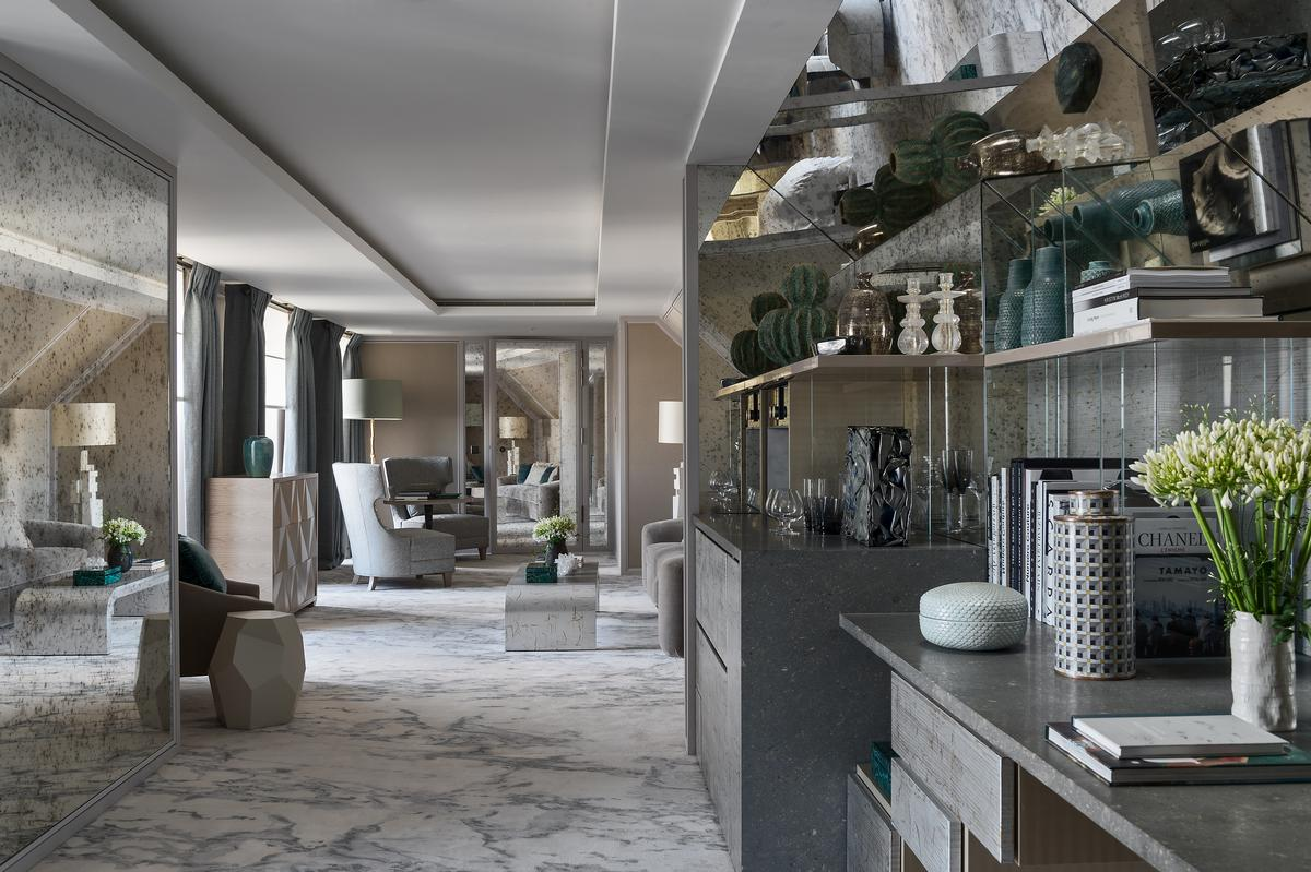 Historic h tel de crillon reopens with rosewood spa and for Hotel design paris spa
