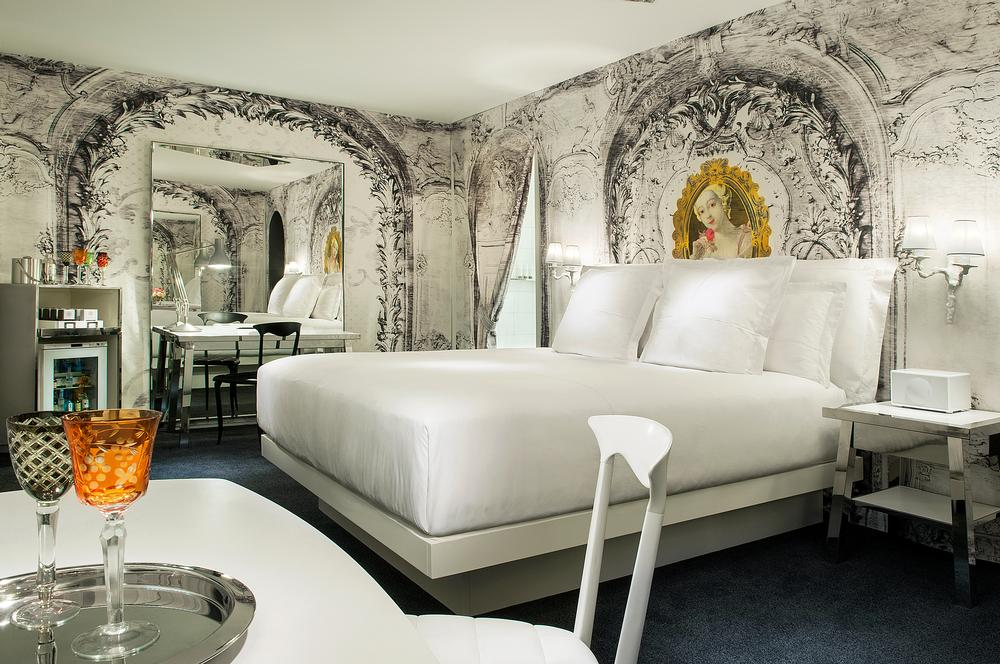 One of Starck's guestrooms