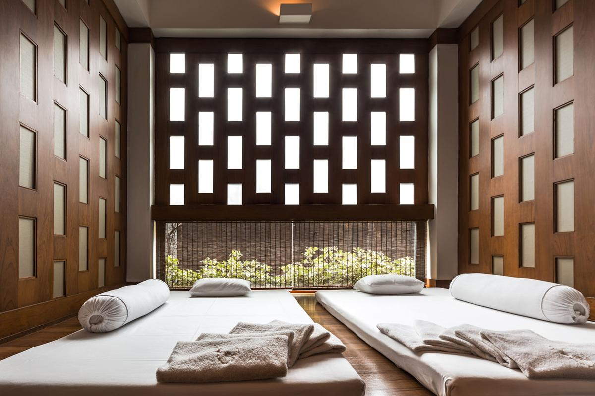 All treatment rooms at the spa have been renovated, including the Royal Suite