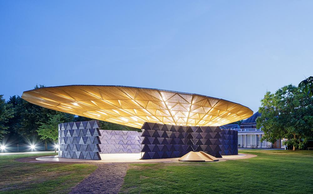 Kéré's design is inspired by a tree in his hometown of Gando, Burkina Faso / Image: Iwan Baan