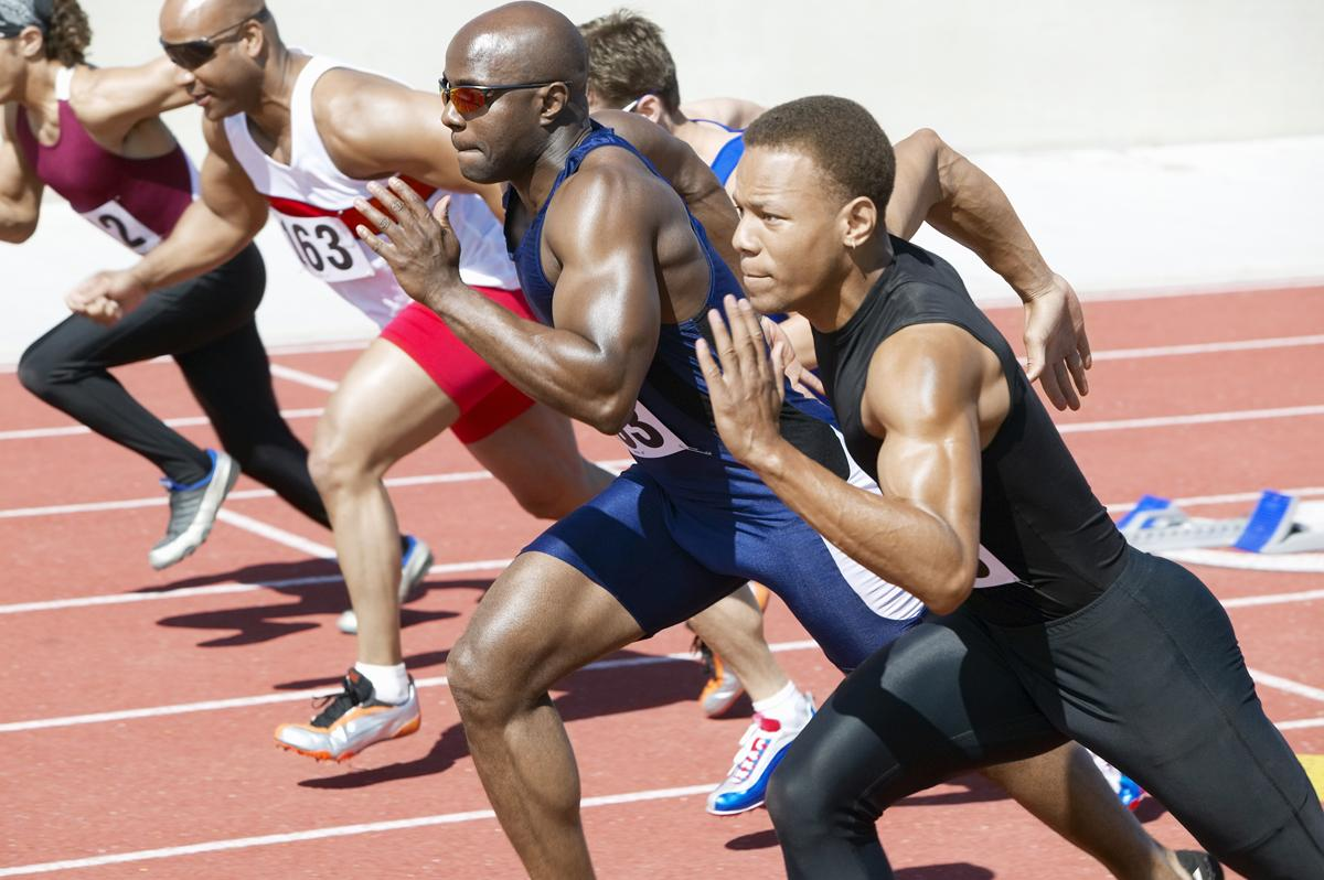 Of the 1,124 athletes funded by UK Sport, only 4 per cent (or around 45 athletes) were black / Shutterstock
