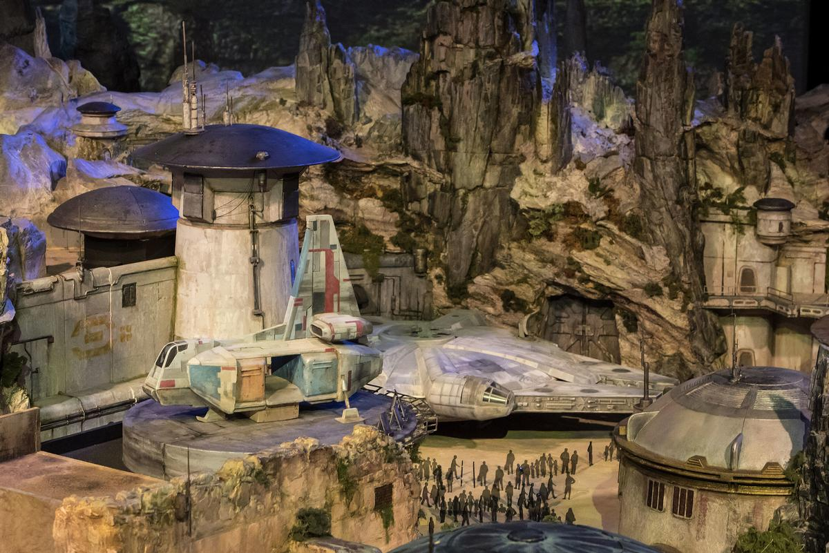 One signature attraction allows guests to take control of the Millennium Falcon / Disney Parks