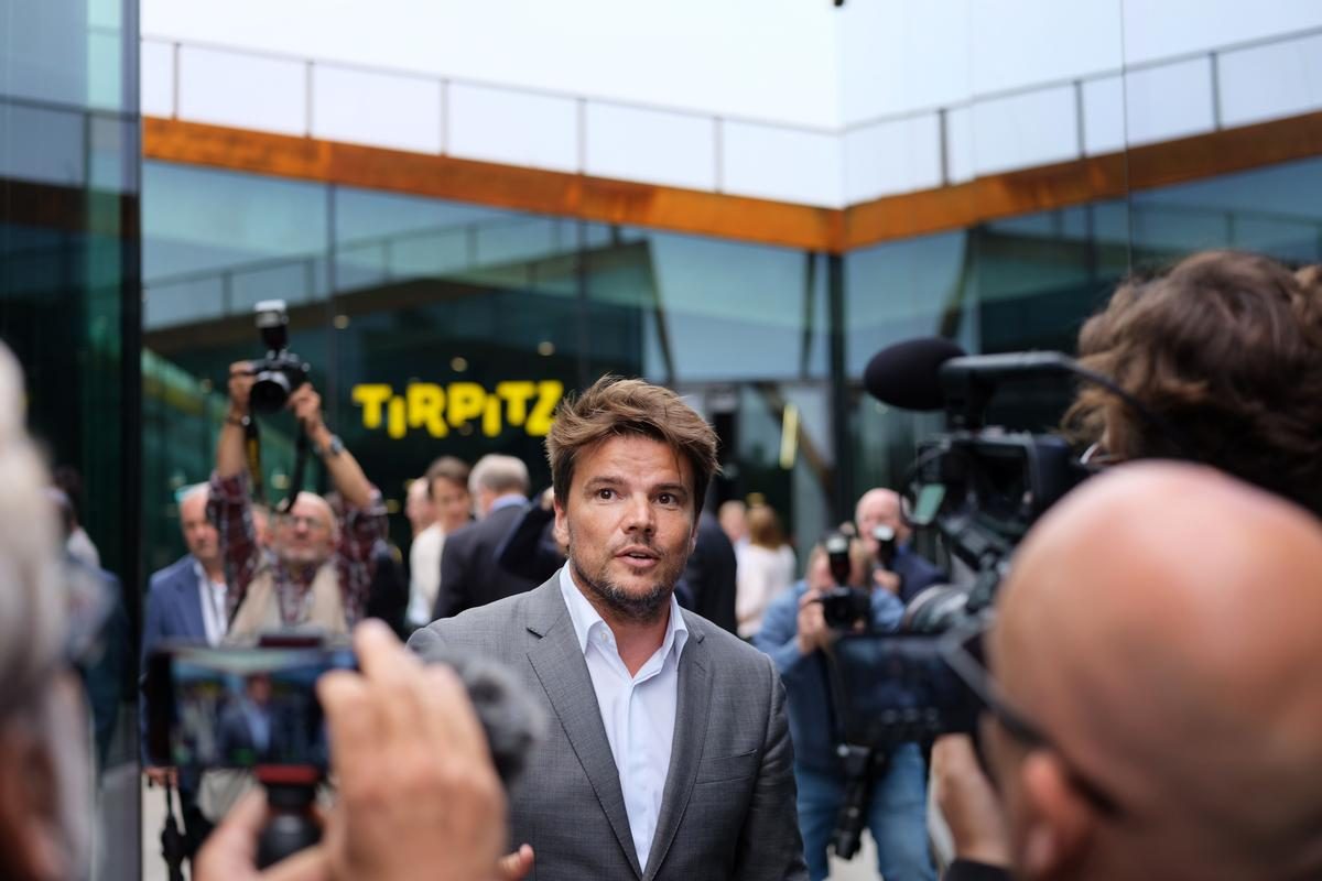 BIG founder Bjarke Ingels attended the opening of the museum in June / Varde Municipality