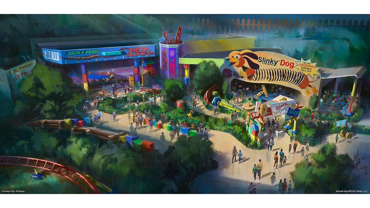 Toy Story Land at Hollywood Studios has now been given an opening date of summer 2018