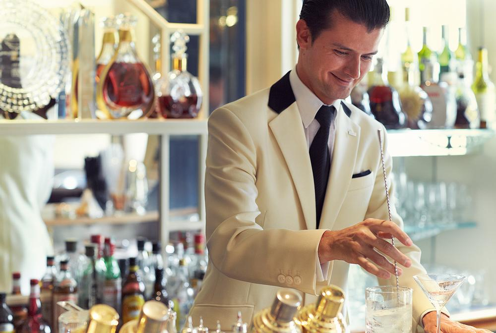 Lorincz was offered the role of head bartender at The Savoy after winning Diageo's World Class contest